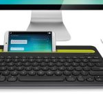 Logitech K480 keyboard links to all your devices at once