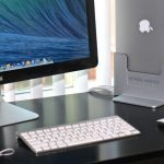 Henge Dock is a stand for your MacBook Pro that powers your desktop