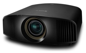 The Sony VPL VW300ES 4K projector
