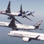 Watch five Airbus A350-900 jets flying in stunt formation