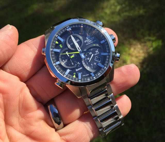 Casio Edifice Eqb 500d 1a Bluetooth Watch Review Smart And Stylish