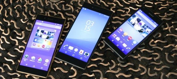 Sony unveils new Xperia Z5 family of smartphones at IFA in ...