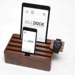 ALLDOCK charges your mobile devices and Apple Watch in one place