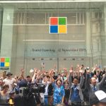 Microsoft Sydney flagship store opens to huge crowds