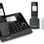 VTech VS150 is a cordless telephone and home security system in one