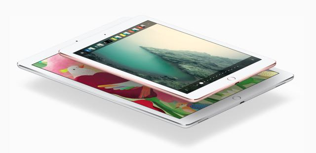 Apple's popular iPad Pro - 12.9-inch and 9.7-inch models