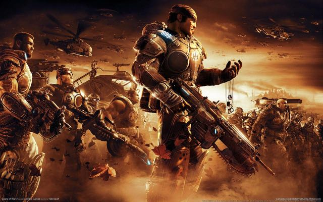 Gears of War was one of many popular game series that were excessive to the Xbox 360