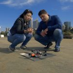 A look behind the scenes ahead of the Intel Drone 100 flight over Sydney