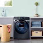Samsung unveils high tech front-loading washer dryer and triple-cooling refrigerator