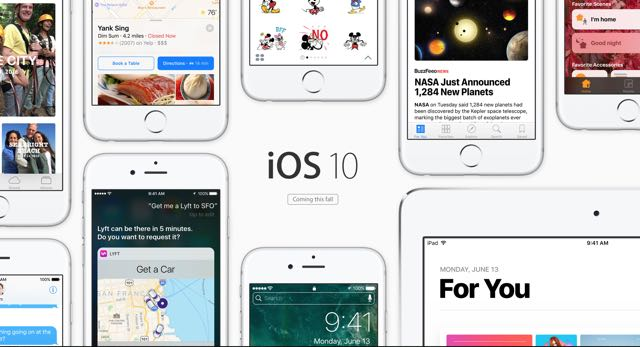 iOS 10 for iPhone and iPad is available now – here's how you install it.