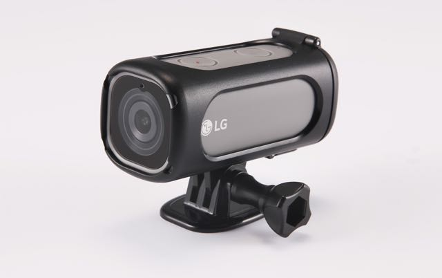 LG unveils action camera that captures your activities and broadcasts them live