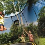 New smart trampoline can provide screen time and exercise at the same time