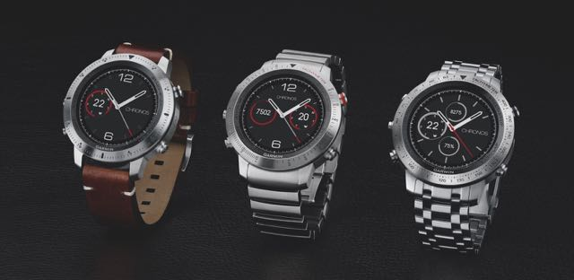 aaacc28ad35 Garmin adds a touch of luxury to multisport watches with fenix Chronos