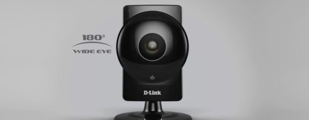 D-Link DSC-960L Wide-Eye HD security camera has a 180-degree field of view