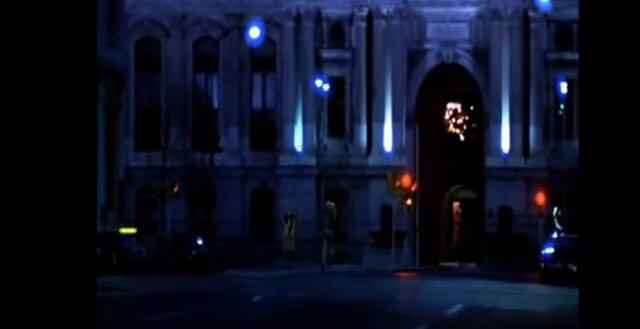 A closer shot of City Hall