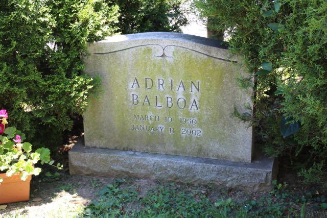 Adrian's grave stone