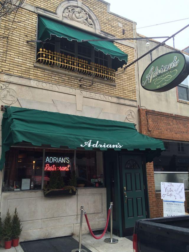 Adrian's Restaurant in Rocky Balboa