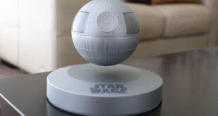The Levitating Death Star Bluetooth Speaker is impressive, most impressive