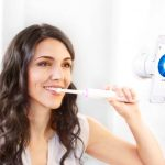 Oral-B Genius has built-in sensors to make sure you brush your teeth properly