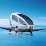EHang 184 autonomous passenger drone will go into service in July