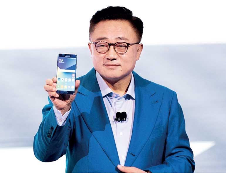 Samsung head of mobile DJ Koh