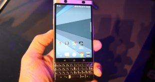 Our hands-on look at the new BlackBerry KEYone smartphone