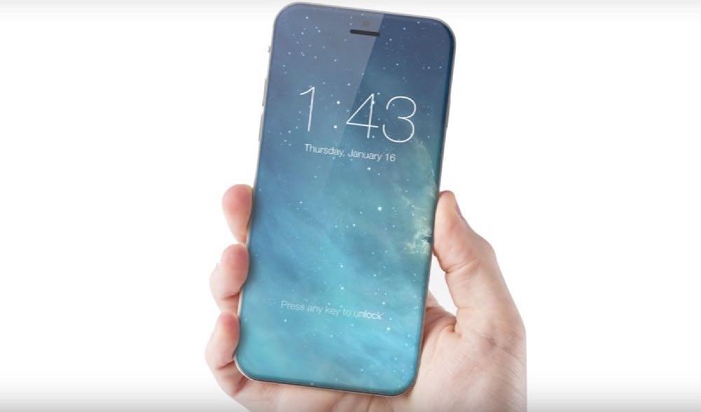 A rumoured iPhone design