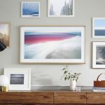 Samsung's new Frame TV can be hung on the wall like a work of art