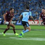 The night I was on the sideline at the State of Origin with Nikon's new D7500