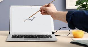 AirBar turns MacBook Air and Windows laptop displays into a touchscreen