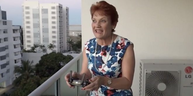 Pauline Hanson's illegal drone flight highlights our cowboy attitude to safety