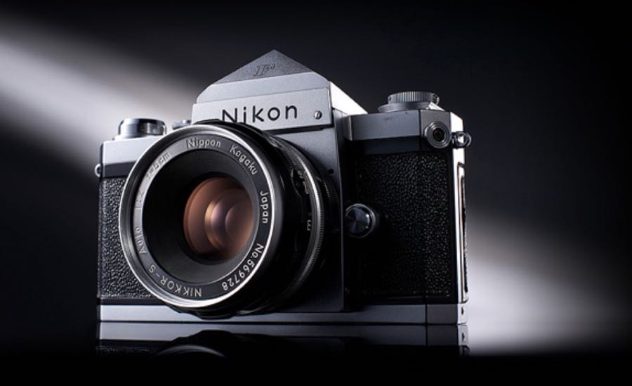 The Nikon F - the first SLR with interchangeable lenses