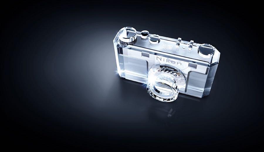 The Swarovski crystal version of the Nikon Model 1