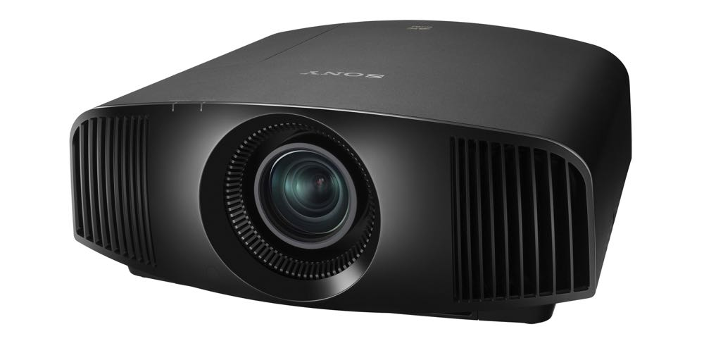 The Sony VPL-VW260ES 4K HDR projector