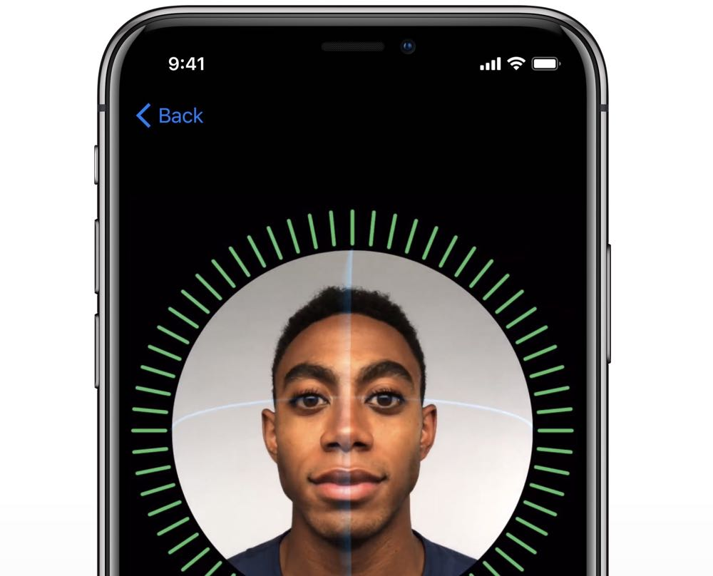 How to register your face for Face ID