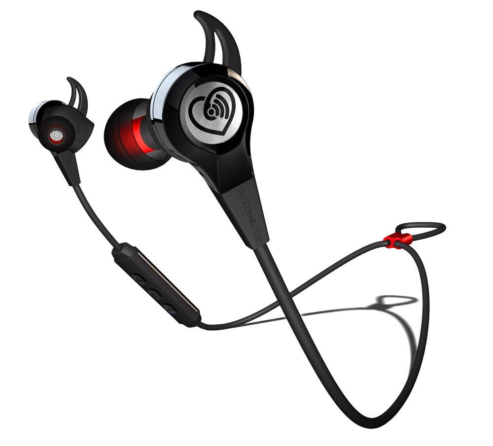 BioConnected HR+ biosensing ear phones