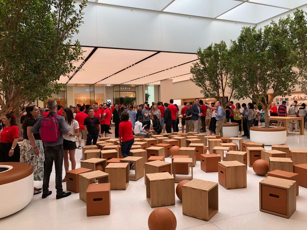 The Forum where customers can take part in Today At Apple sessions