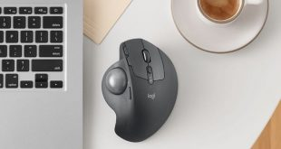 Logitech MX Ergo trackball mouse offers precision and comfort