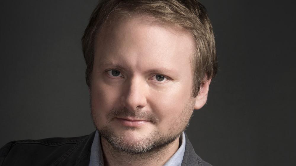 Writer director Rian Johnson