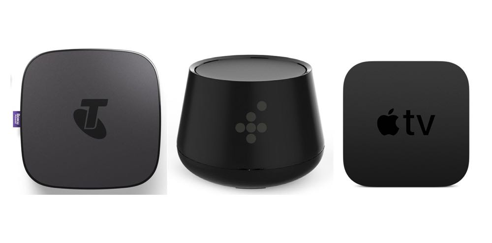 Battle of the boxes - Telstra TV v Foxtel Now box v Apple TV