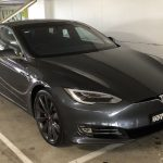 Letting the Tesla Model S take control of the driving with Enhanced Autopilot