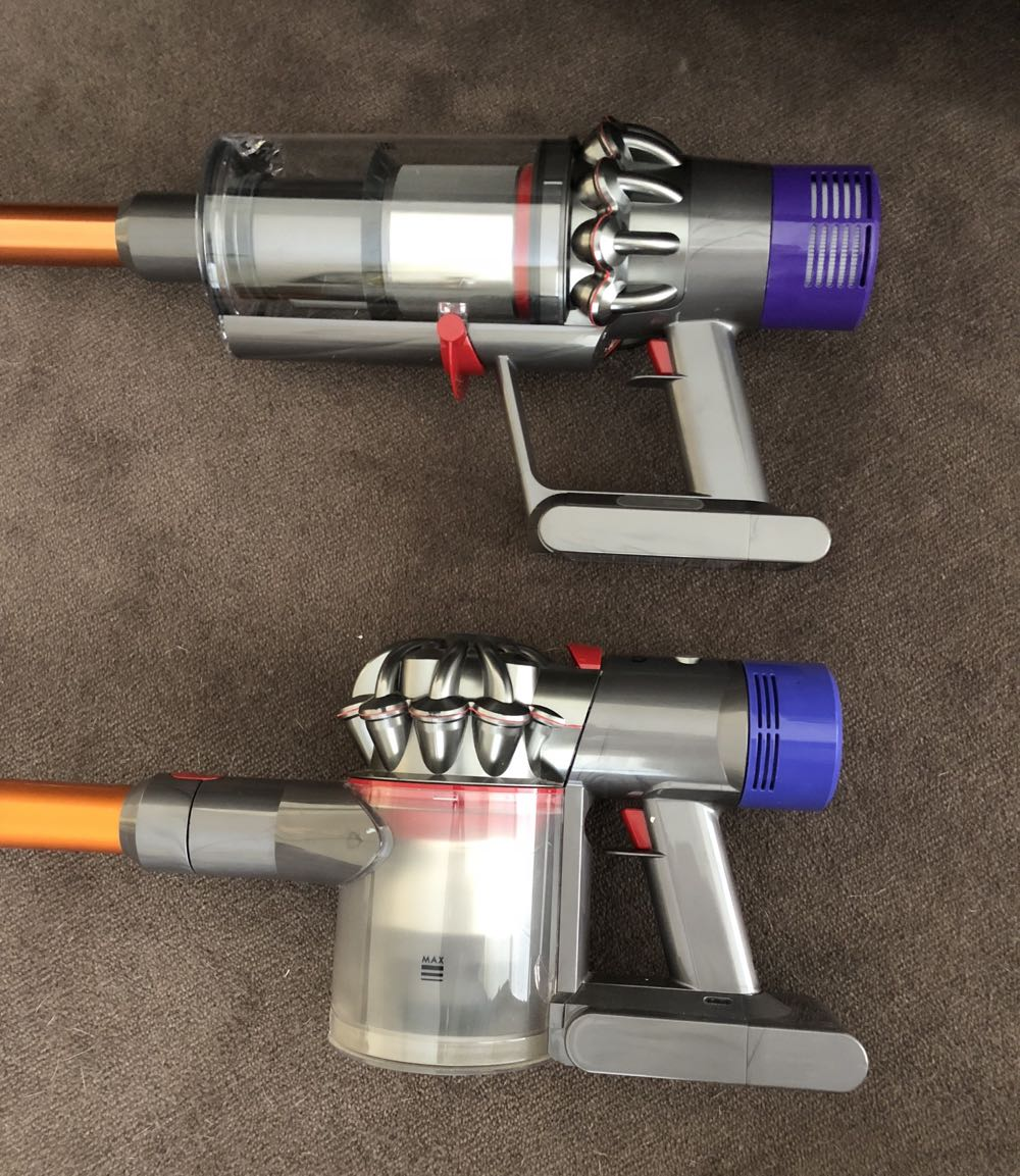 dyson cyclone v10 cord free stick vacuum review smaller. Black Bedroom Furniture Sets. Home Design Ideas