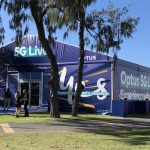 Optus demonstrates its 5G network speeds and capabilities at the Commonwealth Games
