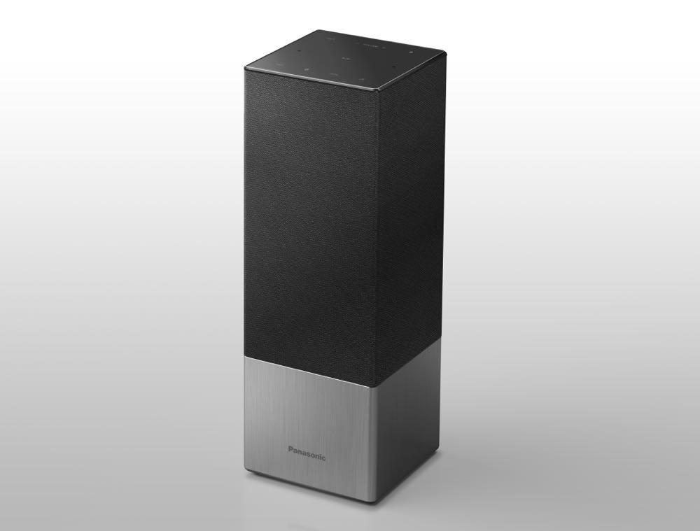 The Panasonic SC-GA10 smart speaker with Google Assistant