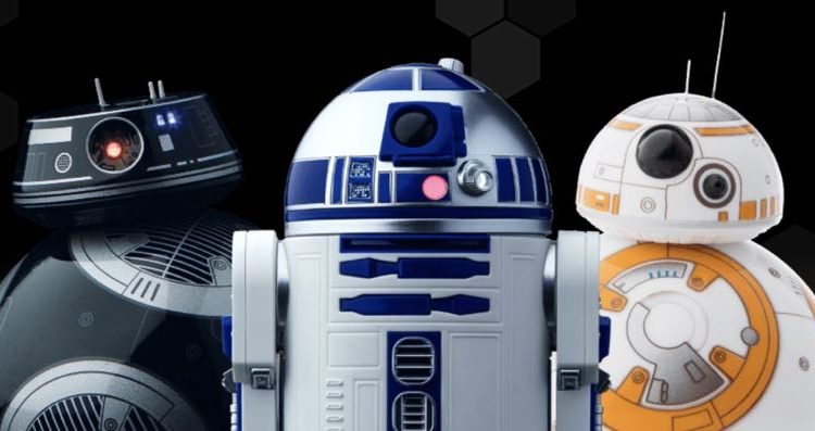 Watch the last jedi with your sphero star wars robots and see them react to the movie tech guide - Robot blanc star wars ...