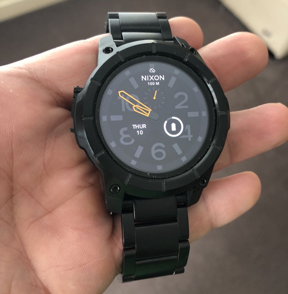 Nixon Mission Ss Smartwatch Review The Device With Brawn And Brains Tech Guide