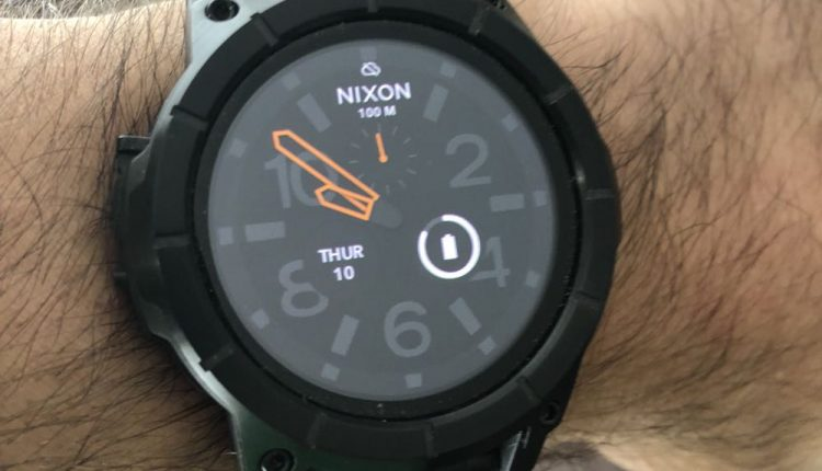4e26d6cfd9b Nixon Mission SS smartwatch review - the device with brawn and brains -  Tech Guide