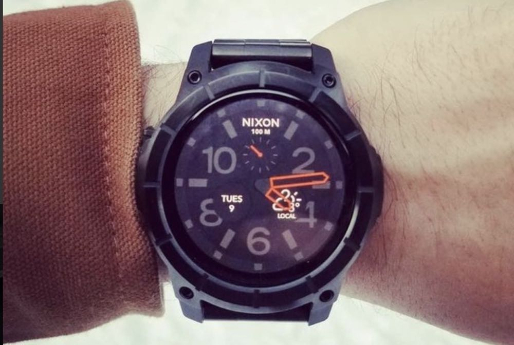 28b7526eef8 The Nixon Mission SS is priced at  679.99 which is comparable to the price  you pay for a regular high-end sports watch.