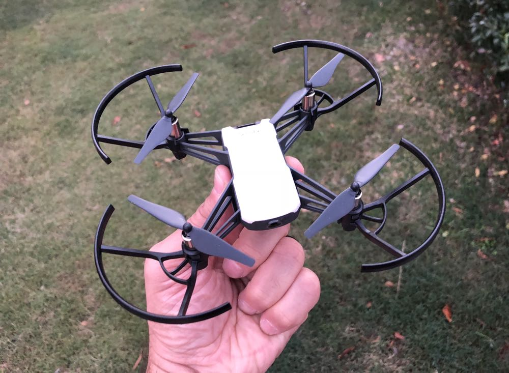 Tello drone review - fits in the palm of your hand and a ton of fun