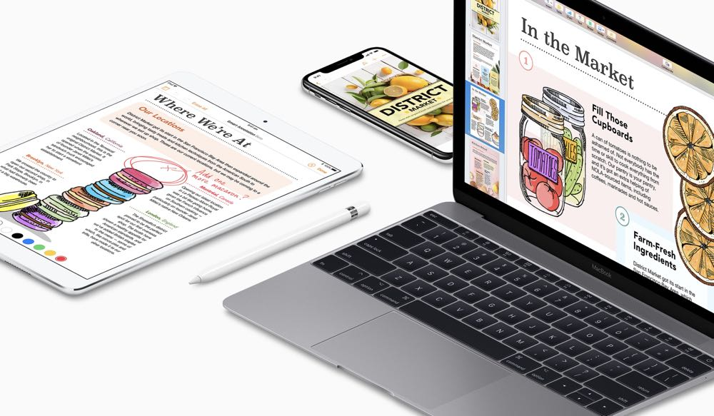 Apple rolls out major updates for Pages, Numbers and Keynote